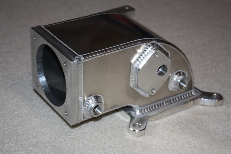 6061 Com Sheet Metal Throttle Body Elbow Intake Manifold